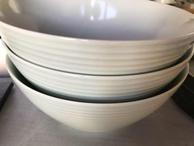 究極のラーメン鉢重ねて収納