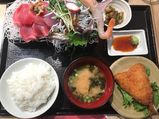 徳多屋贅沢日替わり定食