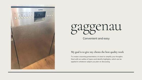 ガゲナウ(gaggenau)の食洗機レビュー!もうガゲナウなしで生きれない