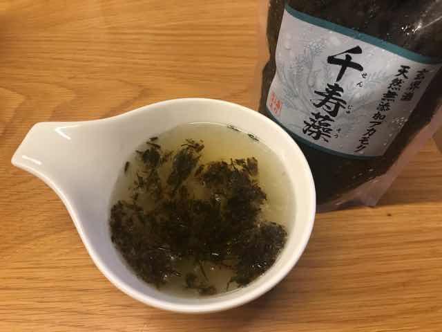 アカモク千寿藻味噌汁は?