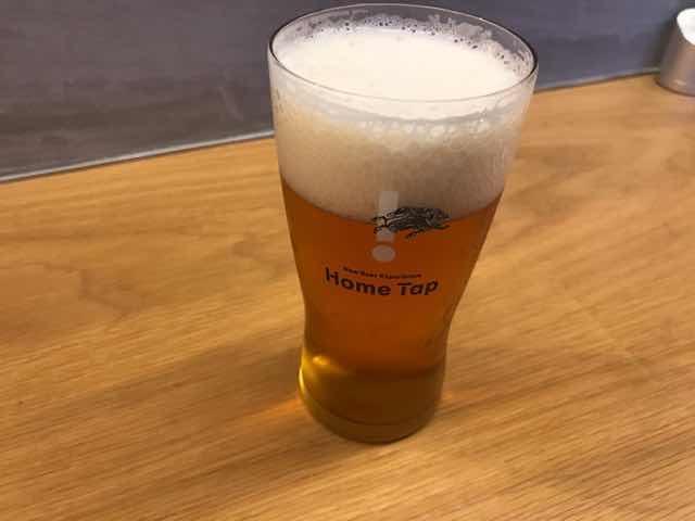 キリンホームタップのビール