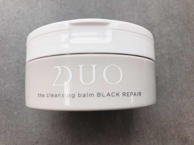 DUO黒ザクレンジングバームブラックリペアの使い方は?