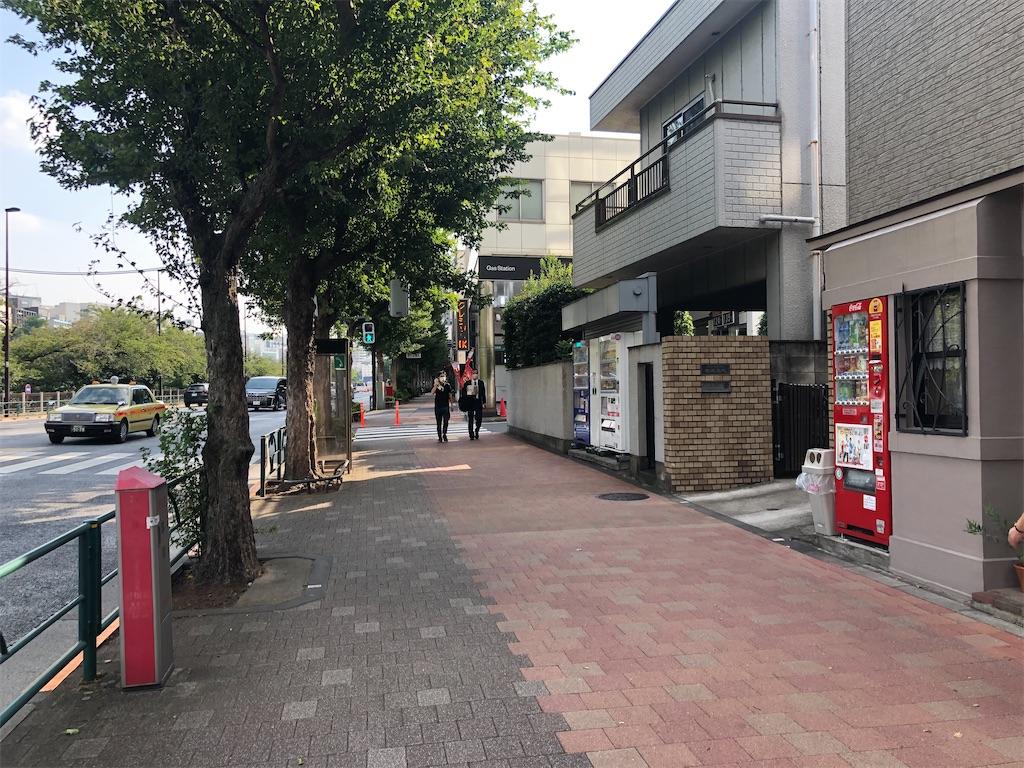 飯田橋~市ヶ谷の大通り