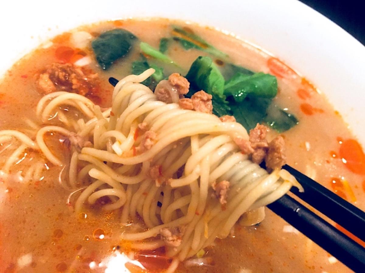 担々麺(あつあつ)