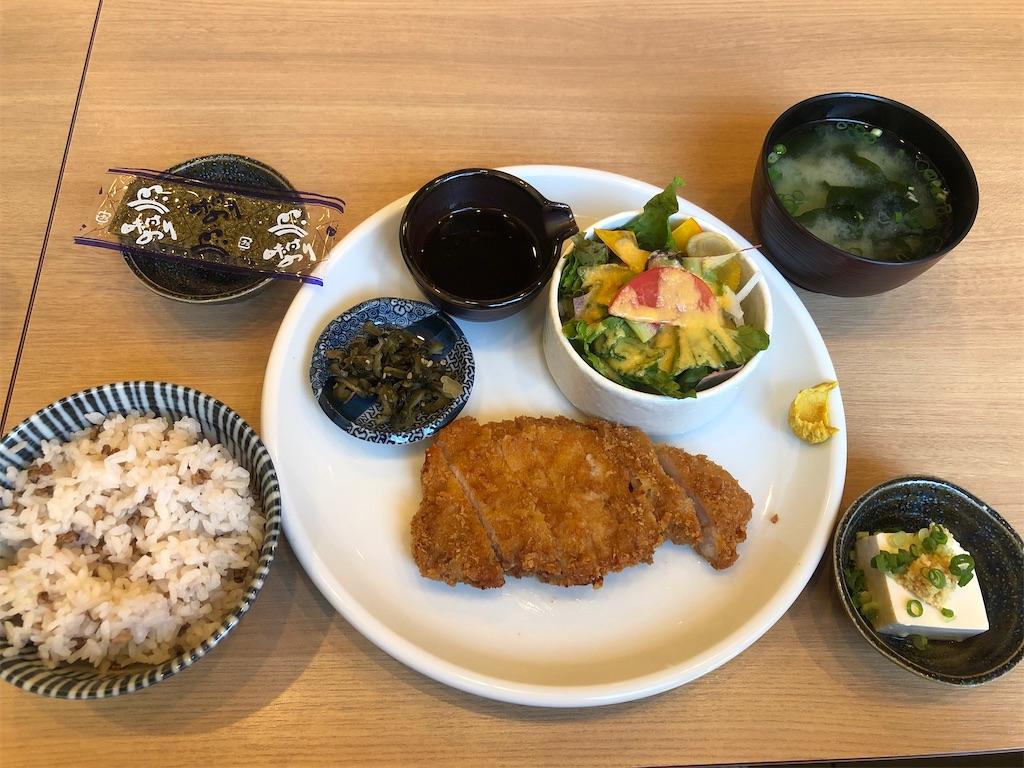 神楽坂横内 豚ロースカツ定食