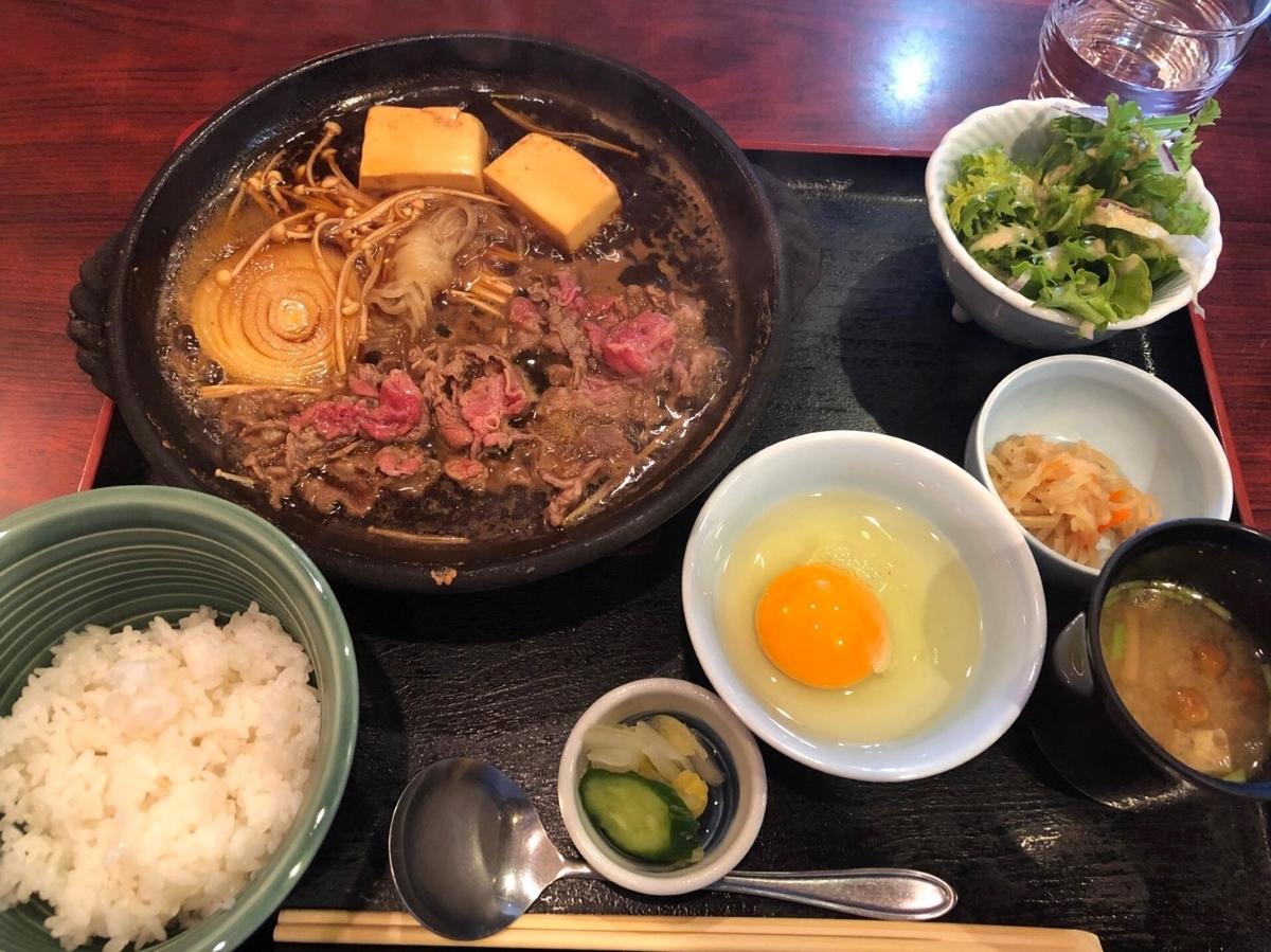 季乃香 1日6食限定 牛鍋定食