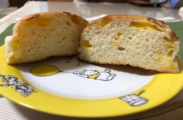ビーバーブレッド ミルクチーズ 断面