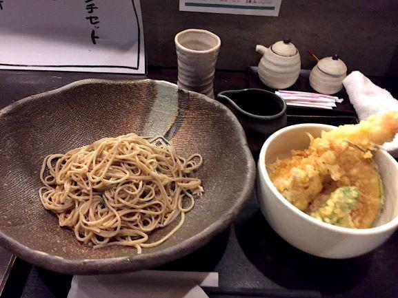 和み 十割ざる蕎麦+ミニ天丼
