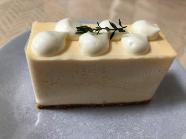 ギャラリーシロップ レアチーズケーキ