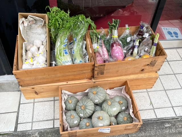 プティボノ 野菜販売コーナー