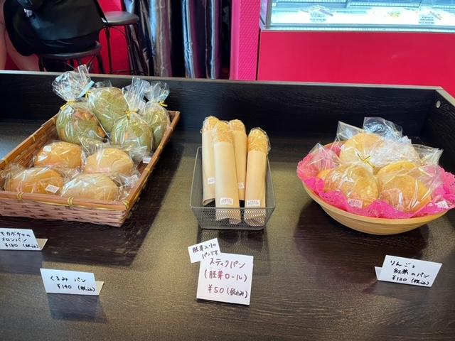 プティボノ 自家製パン販売コーナー