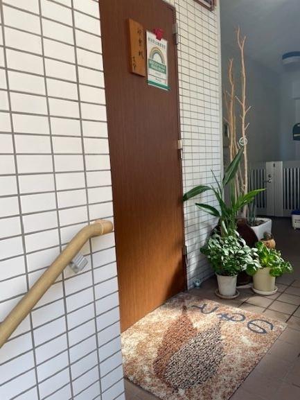 神楽坂友野 入り口の扉