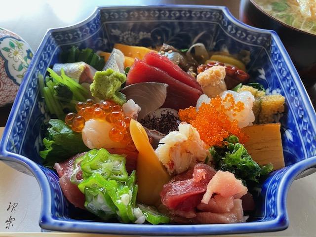 神楽坂友野 ちらし寿司
