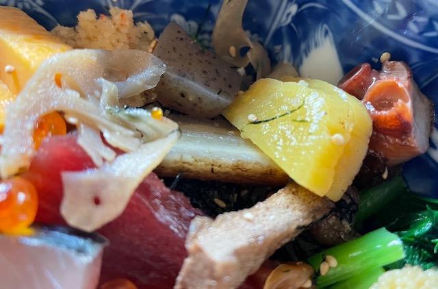神楽坂友野 ちらし寿司 野菜