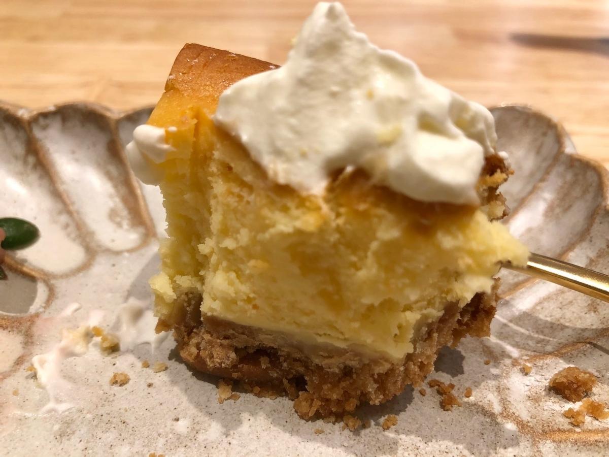 神楽坂Punti ベイクドチーズケーキ