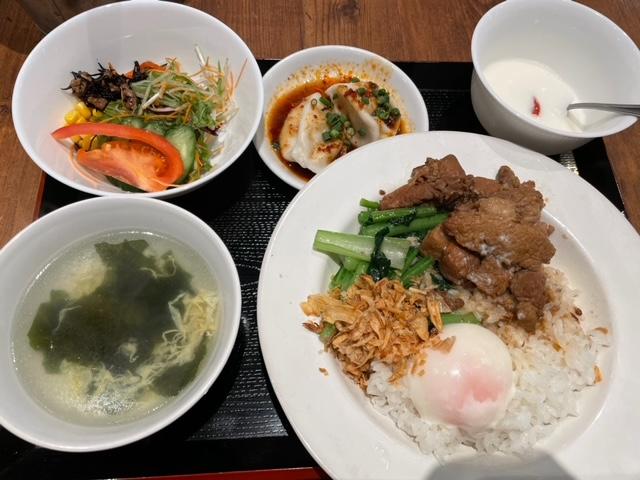 神楽坂 青山シャンウェイ 台湾式ルーロー飯定食