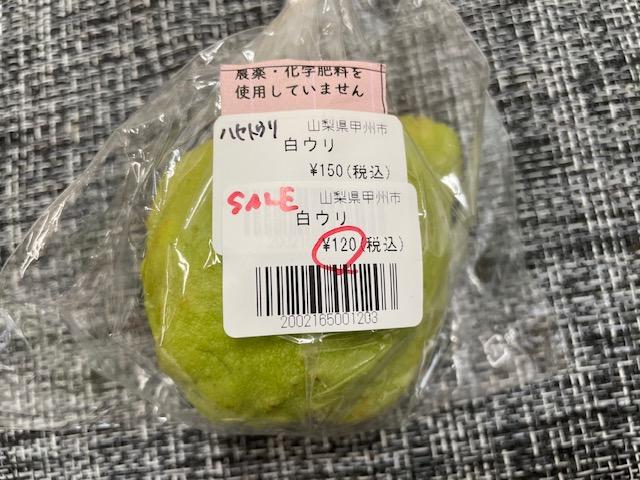 神楽坂野菜計画 白うり