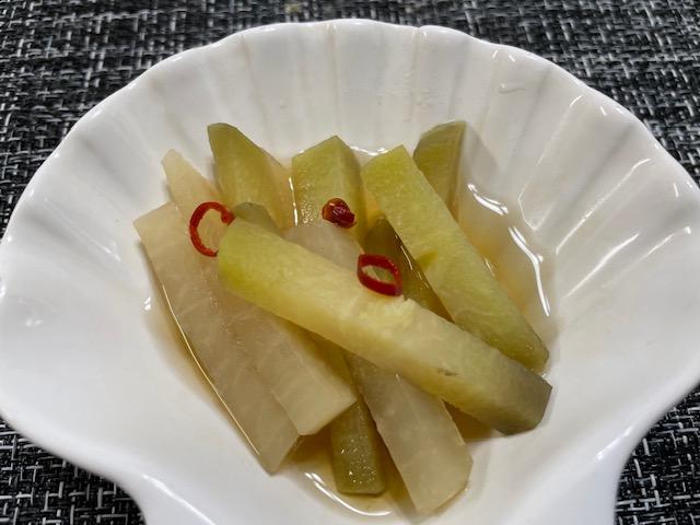 神楽坂野菜計画 白うりと大根の煮物