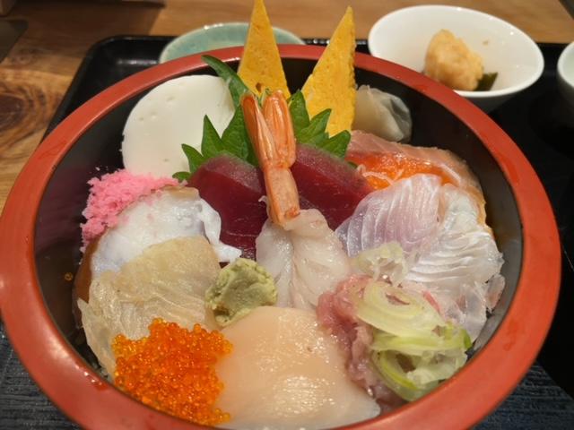 神楽坂ひろか二葉 ランチ海鮮丼