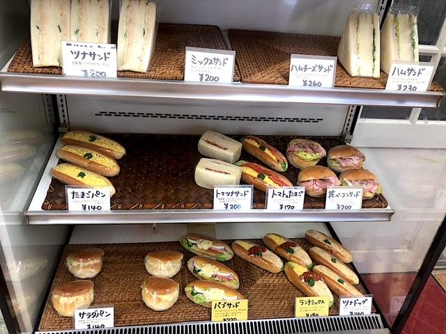 飯田橋いちげベーカリー サンドイッチの種類