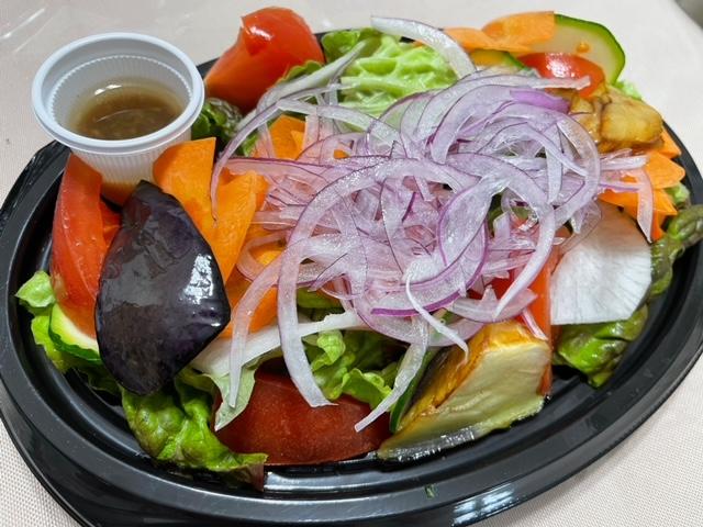 神楽坂 食彩一番 テイクアウト ディナー お野菜たっぷり一番サラダ