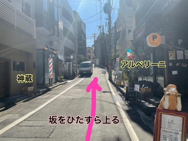 神楽坂NODO 行き方