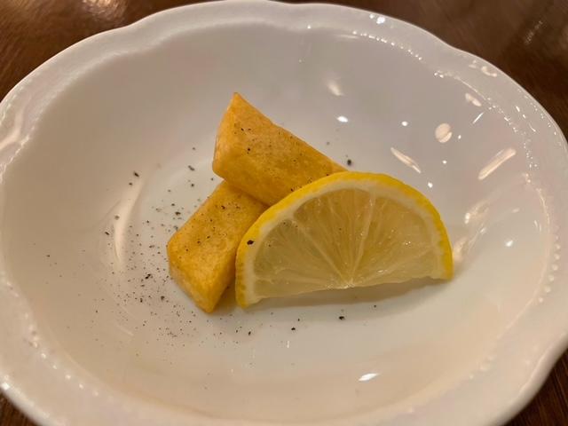 飯田橋スクニッツォ ランチコース 前菜 パニッサ