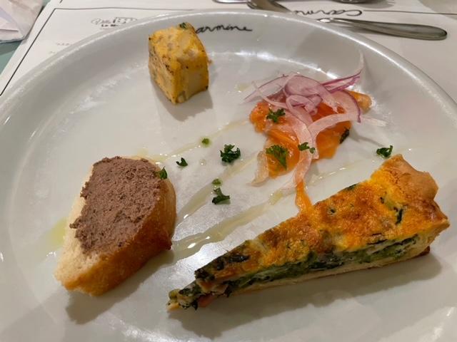 牛込神楽坂 カルミネ ランチコース 前菜盛合せ