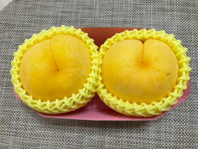 神楽坂ハピマルフルーツ 黄色いモモを買ってみた!