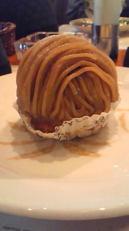 櫻井甘精堂 栗の木テラスのモンブラン