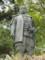 春日山の上杉謙信像