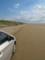 千里浜の美しい砂