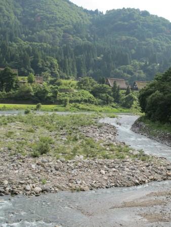 白川の風景