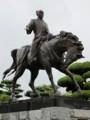 藤堂高虎公騎馬像