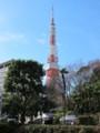 東京タワーをのぞむ