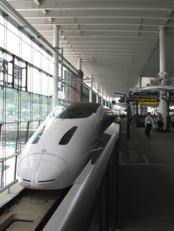 熊本駅にて800系