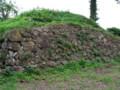 月山富田城二の丸石垣
