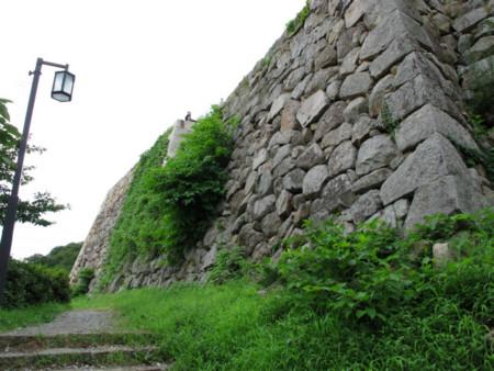 鳥取城二の丸石垣