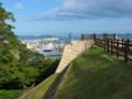 丸亀城より瀬戸内を見る