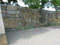 高松城東口桝形石垣