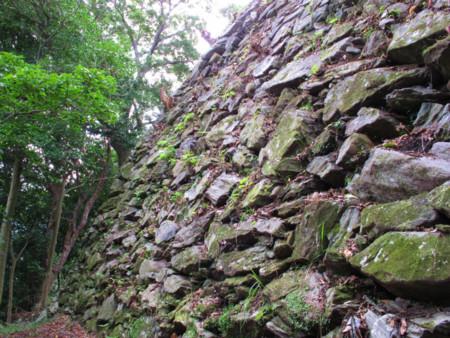 徳島城 城山の石垣