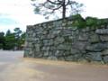 徳島城石垣(緑泥片岩)