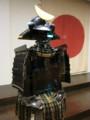 7代藩主伊達重村の甲冑(仙台市博物館)