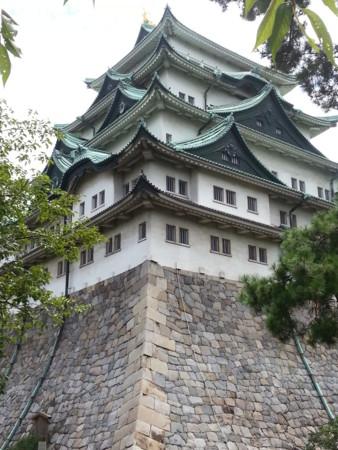 名古屋城天守閣の勇姿