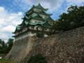 名古屋城の天守閣をのぞむ