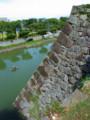 八代城天守台の石垣