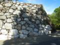 八代城 石灰岩の石垣