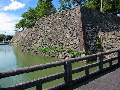八代城の石垣