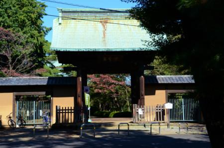 豪徳寺の総門