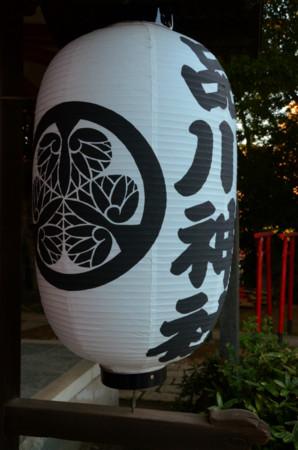 品川神社の提灯